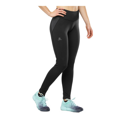 SALOMON - AGILE WARM - Leggings - Women's - black
