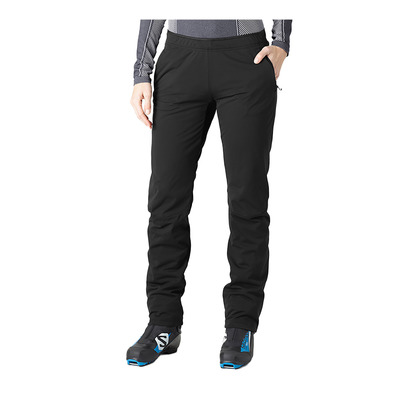 SALOMON - AGILE WARM - Pantalon Femme black