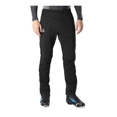 SALOMON - RS SOFTSHELL - Pants - Men's - black