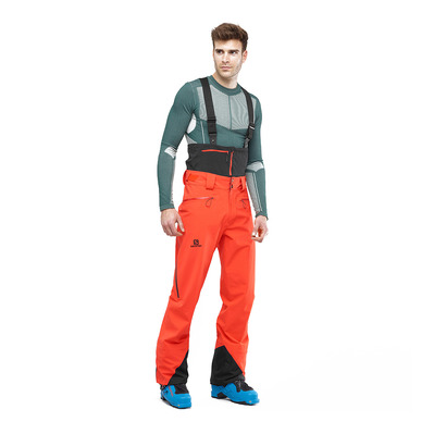 SALOMON - ICESTAR - Pantalon ski Homme cherry to