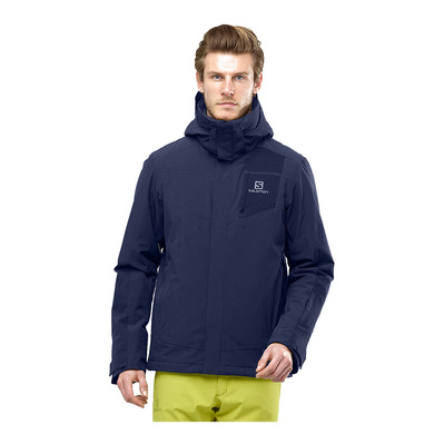 SALOMON - STORMSTRONG - Ski Jacket - Men's - night sky