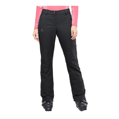 SALOMON - STORMSEASON - Pantalon ski Femme black