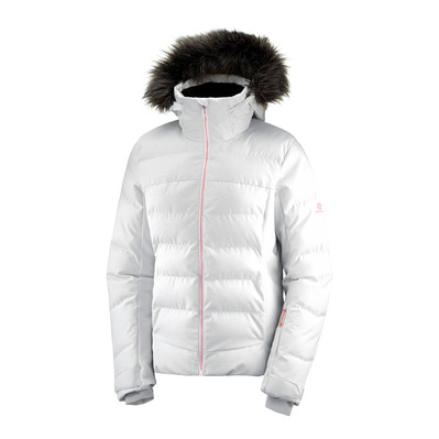 SALOMON - STORMCOZY - Down Jacket - Women's - wht/lunar rock