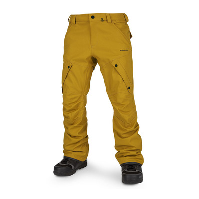 VOLCOM - ARTICULATED - Pantaloni snowbord Uomo resin gold