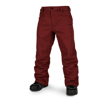 VOLCOM - CARBON - Snow Pants - Men's - burnt red