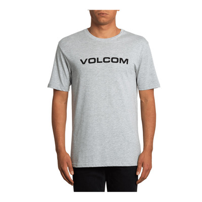 VOLCOM - CRISP EURO - T-shirt Uomo heather grey