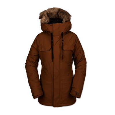 VOLCOM - SHADOW INS - Snow Jacket - Women's - copper