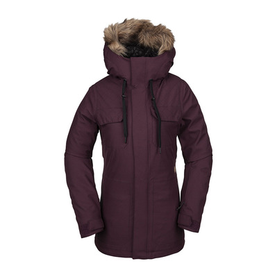 VOLCOM - SHADOW INS - Snow Jacket - Women's - merlot
