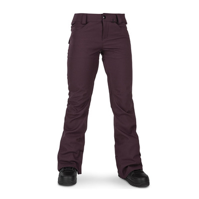 VOLCOM - SPECIES STRETCH - Pantaloni snowbord Donna merlot
