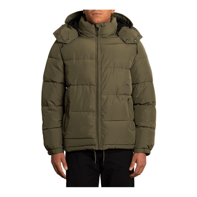 VOLCOM - ARTIC LOON 5K - Doudoune Homme army green combo