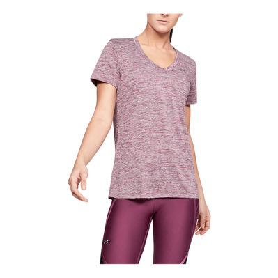 UNDER ARMOUR - TECH - Camiseta mujer level purple
