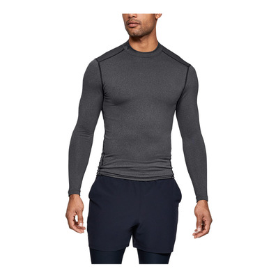UNDER ARMOUR - CG ARMOUR MOCK - Maillot Homme carbon heather
