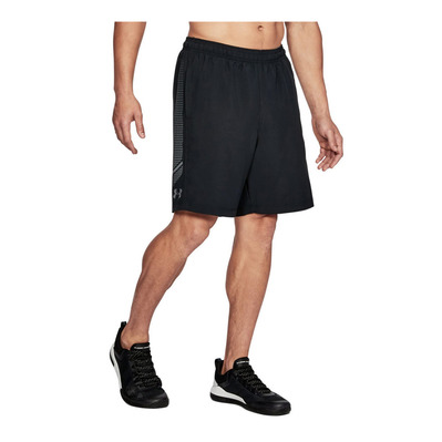 UNDER ARMOUR - WOVEN GRAPHIC - Short hombre black/steel