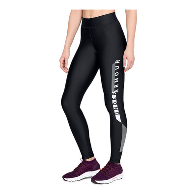 UNDER ARMOUR - HG Armour Graphic Legging-BLK Femme Black1318205-001