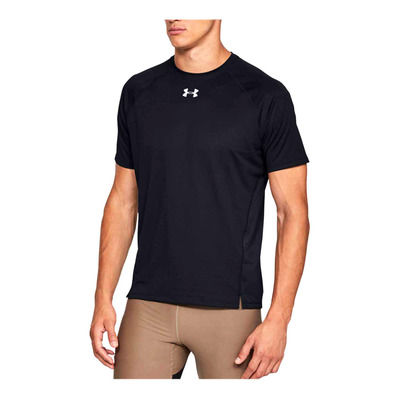 UNDER ARMOUR - UA QUALIFIER SHORTSLEEVE-BLK Homme Black1326587-001