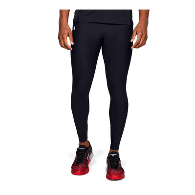 UNDER ARMOUR - QUALIFIER - Legging Uomo black/black/reflective