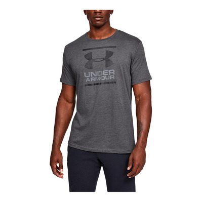 UNDER ARMOUR - UA GL Foundation SS T-GRY Homme Charcoal Medium Heather1326849-019