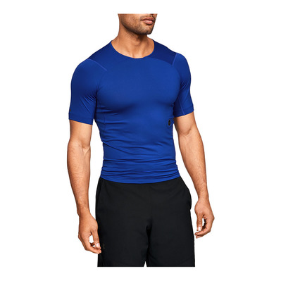 UNDER ARMOUR - UA HG Rush Compression SS-BLU Homme Royal1327644-400
