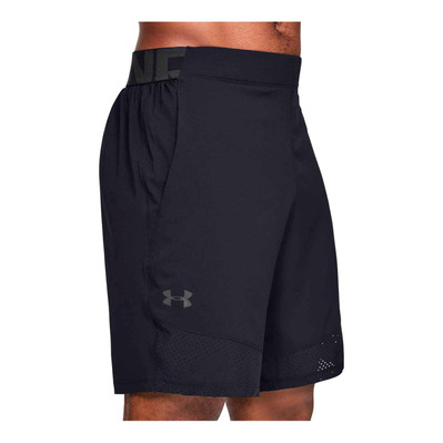 UNDER ARMOUR - VANISH WOVEN - Short hombre black/jet gray