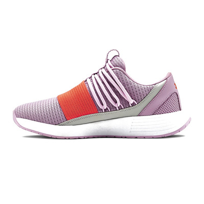 UNDER ARMOUR - BREATHE LACE NM2 - Chaussures training Femme pink fog