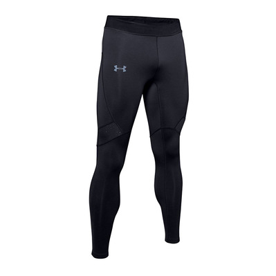 UNDER ARMOUR - QUALIFIER COLDGEAR - Mallas hombre black