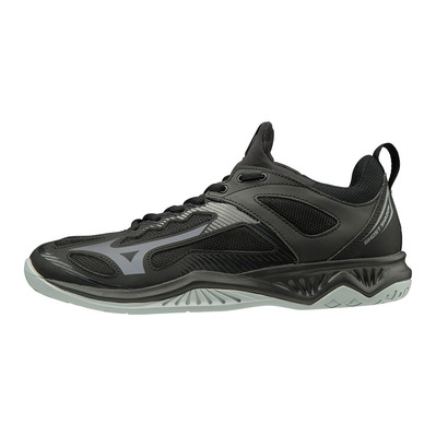 MIZUNO - GHOST SHADOW - Chaussures handball blk/steelgray/high rise