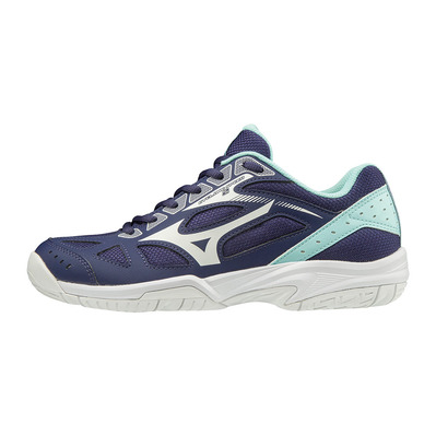 MIZUNO - CYCLONE SPEED 2 - Chaussures volley Femme astralaura/wht/bluelight