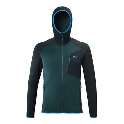 MILLET - SENECA TECNO HOODIE - Fleece - Men's - orion blue/electric blue