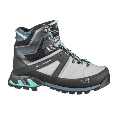 MILLET - HIGHROUTE GTX - Hiking Shoes - Women's - high rise/aruba blue