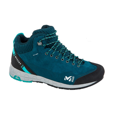 MILLET - AMURI LEATHER MID DRYEDGE - Zapatillas de aproximación mujer orion blue/indian