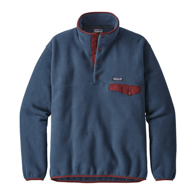 PATAGONIA - LIGHTWEIGHT SYNCHILLA SNAP-T - Fleece - Men's - stone blue