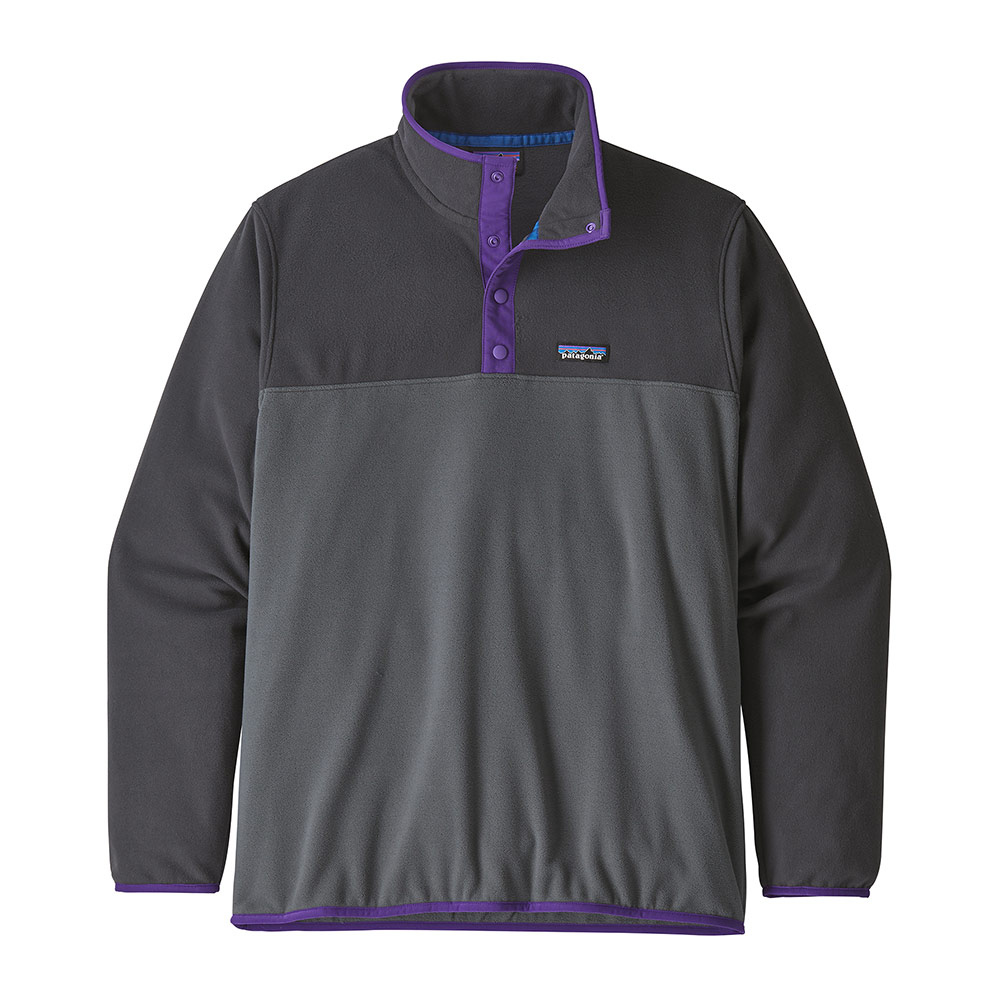 PATAGONIA - Patagonia MICRO D SNAP-T - Polar hombre forge grey