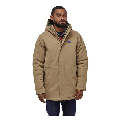 PATAGONIA - LONE MOUNTAIN - Parka Jacket - Men's - mojave khaki