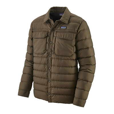 PATAGONIA - SILENT DOWN - Doudoune Homme logwood brown