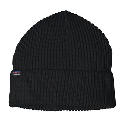 PATAGONIA - FISHERMANS ROLLED - Gorro black