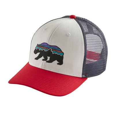 PATAGONIA - FITZ ROY BEAR - Casquette white