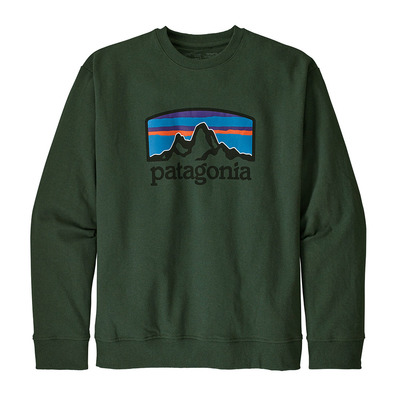 PATAGONIA - FITZ ROY HORIZONS UPRISAL CREW - Sweat Homme alder green