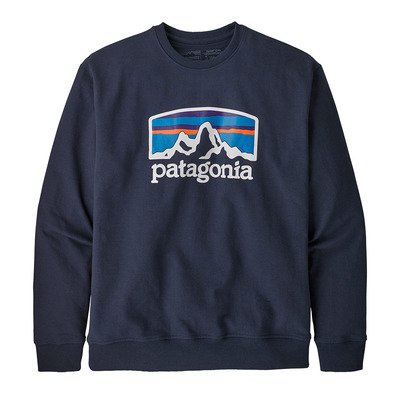 PATAGONIA - FITZ ROY HORIZONS UPRISAL CREW - Sweat Homme classic navy