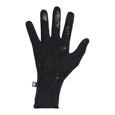 ICEBREAKER - QUANTUM - Gloves - black