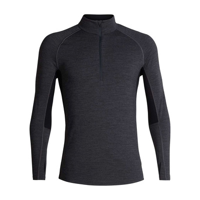 ICEBREAKER - 200 ZONE - Base Layer - Men's - jet hthr/black