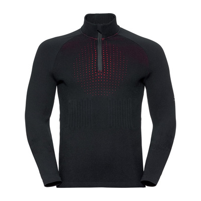ODLO - Pull 1/2 zip I-THERMIC Homme black