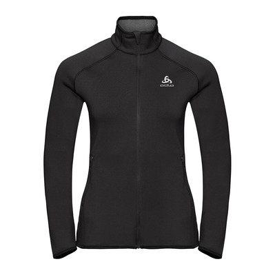 ODLO - CARVE CERAMIWARM FULL - Sweat Femme black