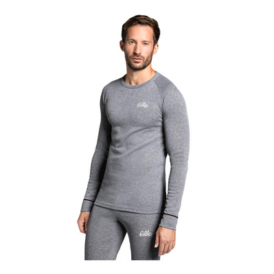 ODLO - T-Shirt ML ACTIVE WARM Originals Homme grey melange
