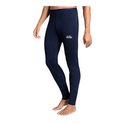 ODLO - ACTIVE WARM - Mallas hombre diving navy