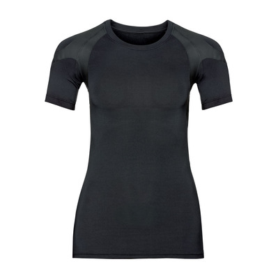 ODLO - T-shirt MC ACTIVE SPINE LIGHT Femme black