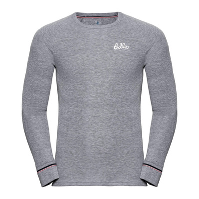 ODLO - T-shirt ML ACTIVE WARM ORIGINAL Homme grey melange
