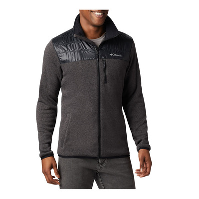 COLUMBIA - CANYON POINT  - Polar híbrido hombre black