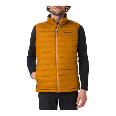 COLUMBIA - POWDER LITE - Doudoune Homme burnished amber
