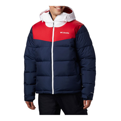 COLUMBIA - ICELINE RIDGE - Doudoune Homme collegiate navy/mountain red/white