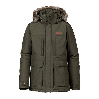 COLUMBIA - Marquam Peak Jacket-Olive Green Homme Olive Green